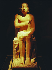 Statue of Kai in the Centenary Exhibition