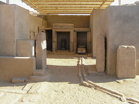 Cult Shrine of Heqa-ib