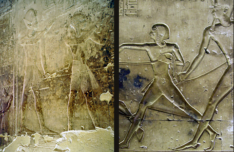 Seti I with his young sons