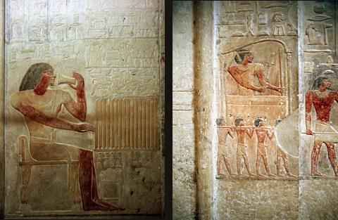 Reliefs of Ptah-hotep