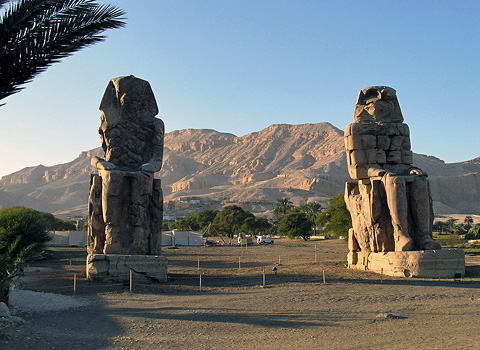 Site of the Temple of Amenhotep III