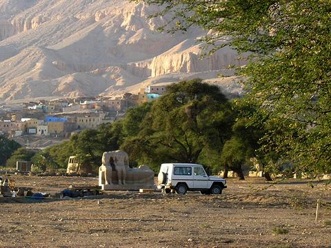 Excavations at Kom el Hettan