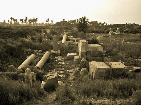 Town site of Hermopolis Magna