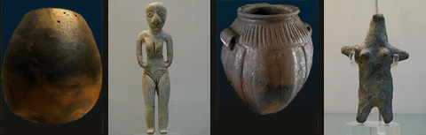 Objects from the el-Badari region