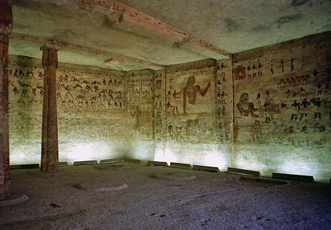 Hatshepsut Wall Painting