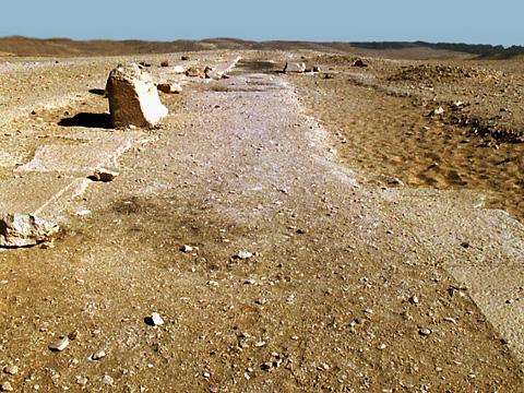 Bent Pyramid causeway