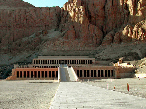 Hatshepsut's temple at Deir el-Bahri