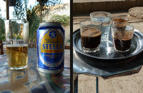 Stella Beer or Coffee?