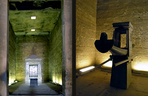 The 'Holy of Holies' and the Barque of Horus