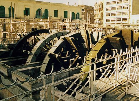 Waterwheels in Medinet el-Faiyum