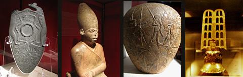 Museum objects from Hierakonpolis