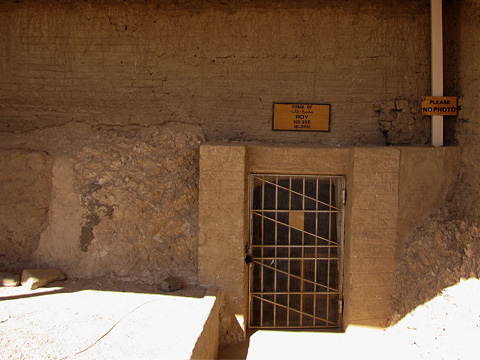 Entrance to the Tomb of Roy