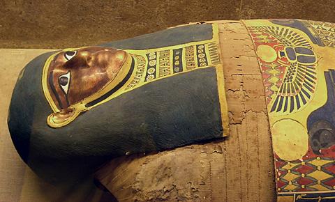 Gilded Mummy, Saqqara, Dynasty XXX