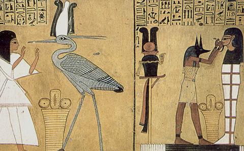 Inherkau adores the Benu-bird