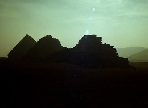 Menkaure's Queens' Pyramids