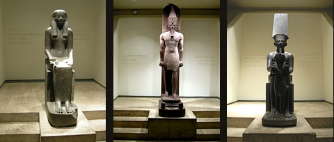 Statues from the Luxor Temple cachette