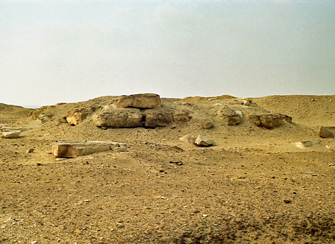 Tomb of a Princess on the north-west corner of Senwosret's pyramid