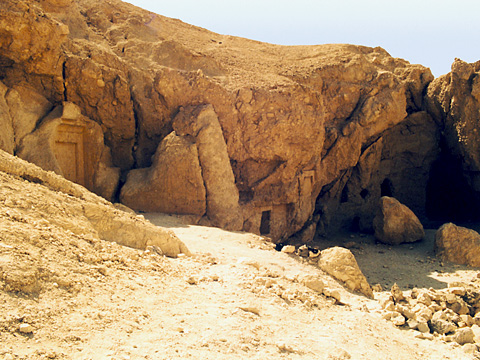 Sanctuary of Ptah and Meretseger from the north