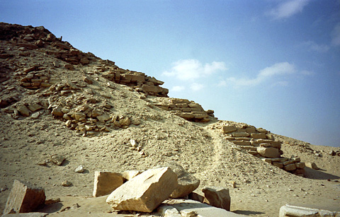 Corner blocks of Niuserre's pyramid