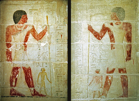 Khnumhotep and Niankhkhnum with their sons
