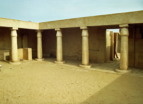 First court of Horemheb's tomb