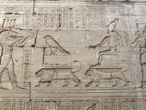The Temple of Horus at Edfu | Egyptian Monuments