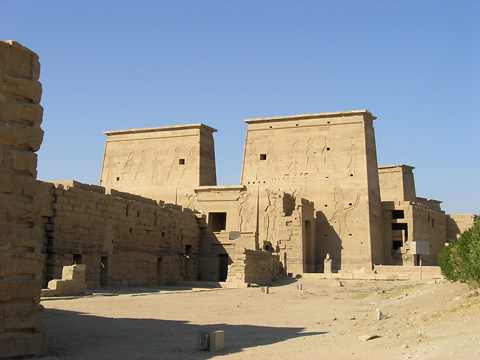 First Pylon at Philae
