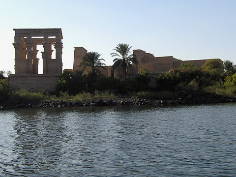 Philae Temple and Trajan's Kiosk