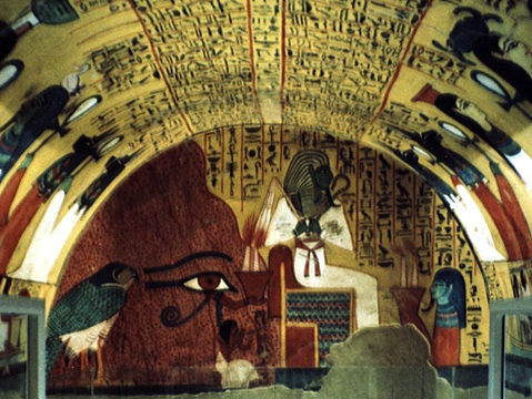Tomb of peshedu tt3 egyptian monuments for Ancient egyptian tomb decoration