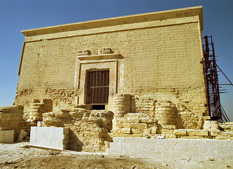 Late Period temple at Qasr Qarun