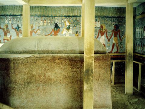 Sarcophagus of Rameses I