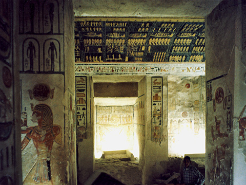 Burial chamber of Rameses VI