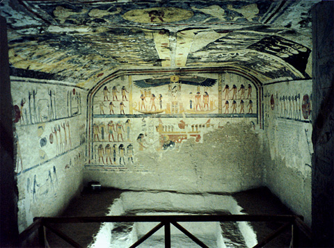 Burial chamber of Rameses IX