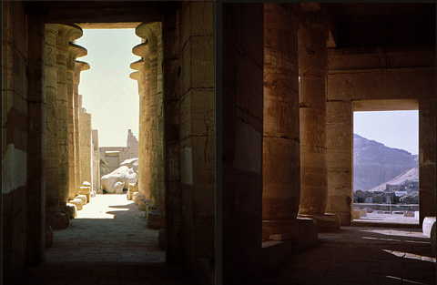 Hypostyle Hall and Astronomical Room