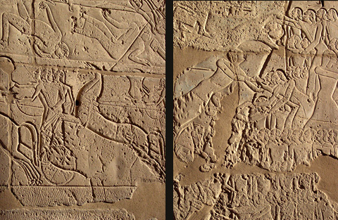 Scenes from the Battle of Kadesh