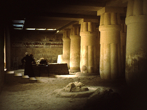 The Luxor tomb of Ramose