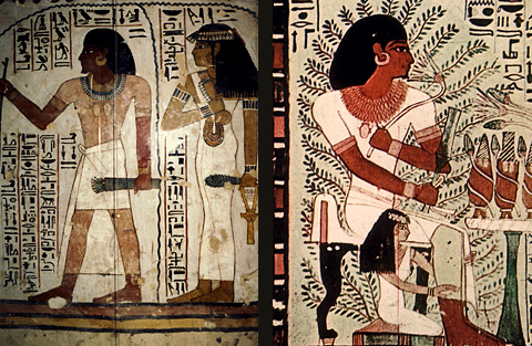 Sennefer and his wife
