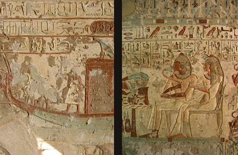 The tomb of Setau