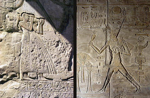 Reliefs of Seti I