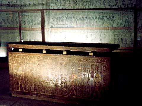 Sarcophagus of Tuthmose III