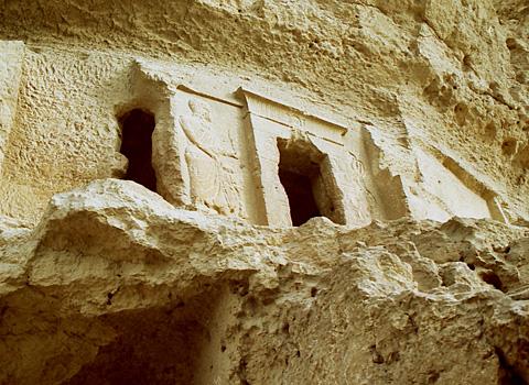Graeco-Roman tomb entrance