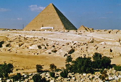 Giza Necropolis - East and Central Fields