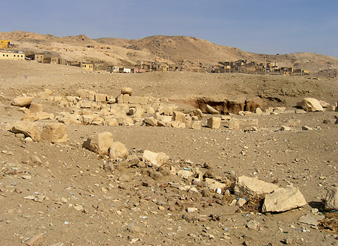 Site of Hatshepsut's Valley Temple