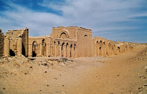 Коптский некрополь Багауат