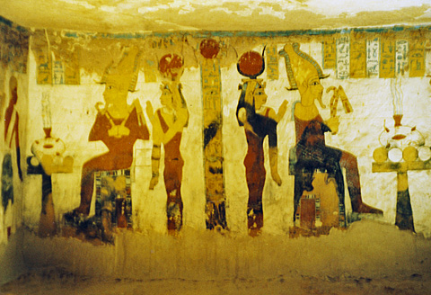 Scene from the tomb of Bannentiu
