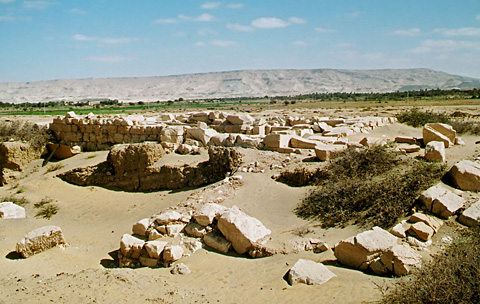 Temple of Amun-nakht at Ain Birbiya