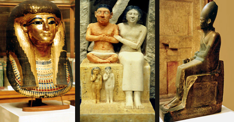 Objects in the Egyptian Museum