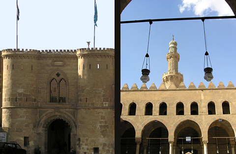 Citadel tower and Mosque of el-Nasr Mohammed