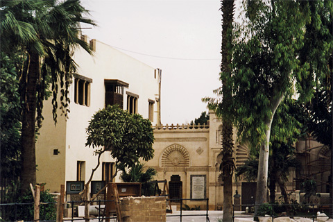 Entrance to the Coptic Museum