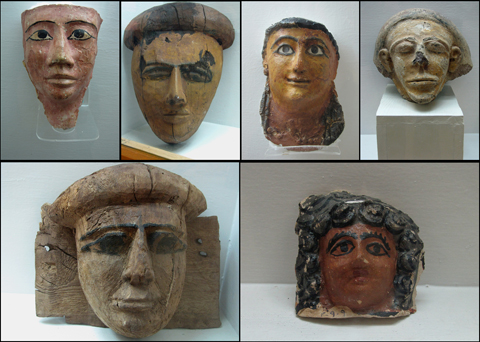 Faces from the Oases